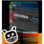 Calco Decorativa Dodge Ram, Dakota, Ect.