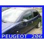 Deflectores Ventanilla Peugeot 206 3 Puertas