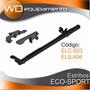 Estribos Eco-sport 1.65mts 3plg + Soportes (bracco)