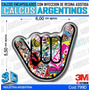 Calcomanias 3d Con Relieve, Encapsulados Resina Sticker Boom