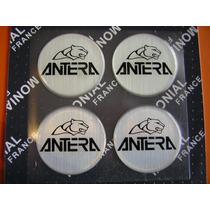 Antera - Logos Para Llantas 49 Mm Resina 3d