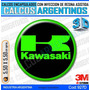 Calcomanias 3d Con Relieve, Accesorio Autos Logo Kawasaki