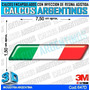 Calcomanias 3d Con Relieve, Accesorio Autos Bandera Italia