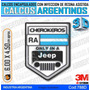 Calcomanias 3d Con Relieve, Accesorio Autos Jeep Cherokeros