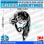 Calcomanias, Stickers, Con Relieve Jesus Religioso