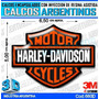 Calcomanias 3d Con Relieve, Accesorio Autos Harley Davidson