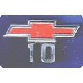 Chevrolet-insignia Logo Chevrolet 10 Lateral Mod. 1969