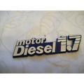 Insignia Leyenda Motor Diesel 1,7 Guardab.fiat Duna