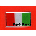 Fiat - Alfa Romeo - Bandera Italiana Autoadhesiva !!!!!!!!!!