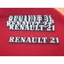 Leyenda Renault 21 De Baul Modelo Viejo Fase I