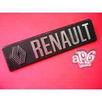 Torino - Insignia Placa Renault De Baul Metalica !!!!!