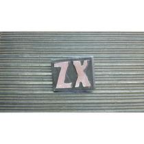 Insignia Metalica Zx Torino De Baul
