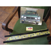 Moldura Cuarto Trasero Torino Coupe Tsx-zx Nueva Original