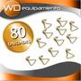 Ganchos Para Criquets X80 Unidades - Kinedyne