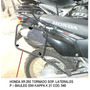 Honda Xr 250 Tornado Portaequipaje Y Sop. Lateral Givi 21 Lt