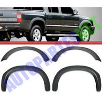 Fenders Moldura Guardabarro Chevrolet S 10 Doble Cabina