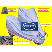 Funda Moto Cobertor Cubre Moto Impermeable Antirobo Covertex