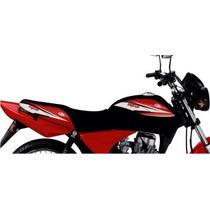 Funda Honda 150 Cg Titan Tanque Tsl Rojo