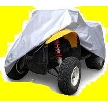Funda Cobertor Cuatri Cuatriciclo Atv Tela No Plastico Impe