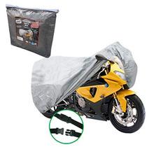 Funda Cubre Moto Impermeable Bolso Con Cierre Y Hebilla