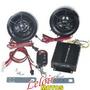 Kit Alarma Moto, Con Mp3, Fm, Usb Potencia Y Parlante