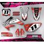 Kit Grafica Calco Honda Crf 250 - 06/09 - Grueso Competicion