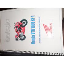Manual De Despiece Honda Vtr 1000 Sp1, A4,español