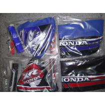 Kit Funda De Asiento Y Tanque Honda Xr 250 Duck Racing Motos