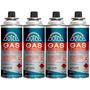 Pack X 4 Cartuchos Gas Doite 227 Grs Butano Propano Camping