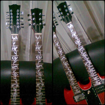Inlay Decal Ibanez Tree Of Life Fotos Reales!