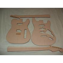 Plantillas De Guitarra Fender Cuerpo Y Mango