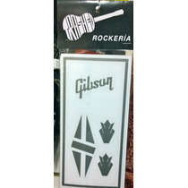 Decal Gibson Vinilo Rockeria Trashed