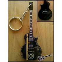 Llavero Guitarra Esp Iron Cross James Hetfield Metallica