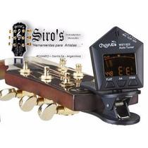Afinador Digital Cherub Para Guitarra Bajo Violin Pinza Clip