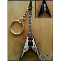 Llavero Guitarra Dean Angel Of Death Dave Mustaine Megadeth