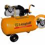 Compresor Aire Lusqtoff 100lt 4hp Bicilíndrico 2 Manómetros