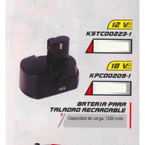 Batería Para Taladro Versa Recargable 12 Volt Kstcd0223-1 #