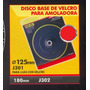 Disco Base De Velcro P/amoladora 180mm Black Jack J302 #