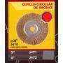 Cepillo Circular De Bronce 6 Black Jack J472 #