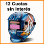 Mascara Careta Soldar Fotosensible Shimaha 12 Cuotas Sin Int