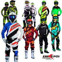 Equipo Conjunto Motocross Radikal Enduro Atv Mx Biker Motos