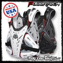 Pechera Motocross Troy Lee Bg 5900 Negra Blanca Powertech