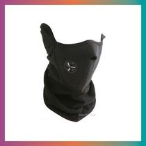 Mascara Neoprene Cuello Termico Moto Sky Negro Tecnimoto