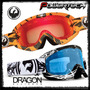 Antiparras Motocross Dragon Mdx 2016 - Powertech Spy Nfx