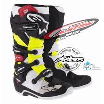 Bota Cross Enduro Alpinestars Tech 7 Ama-rojo Moto Sur