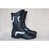 Botas Solco Gp Pista Touring Cuero Con Proteccion Moto Delta
