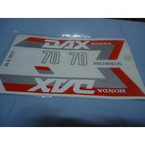 Honda Dax 70 Juego Calcos Repuesto Simil Original