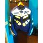 Campera Pista Yamaha Cuero Importada Protecciones Moto