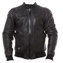 Campera De Cuero Ls2 Black Jack Con Protecciones Devotobikes