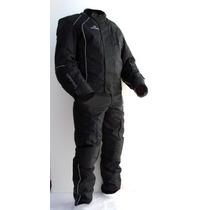 Conjunto Campera Pantalon Moto Antidesgarro Termico Upper
